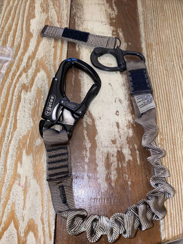 New In The Bag Yates Personal Retention Safety Lanyard Military