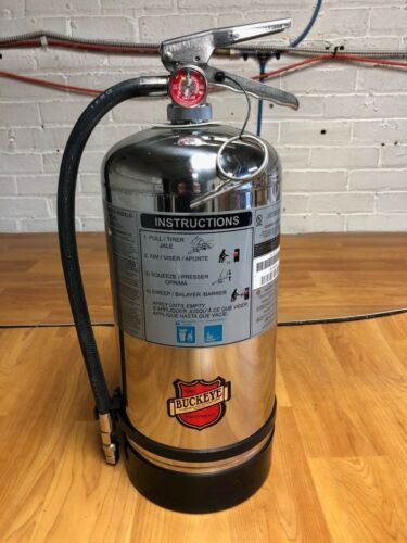 2015 6L Buckeye K-CLASS Wet Chemical FIRE EXTINGUISHER - HydroTested & Serviced