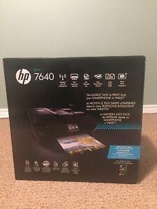HP 3 in one printer