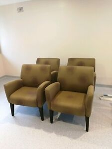 Armchairs or reception chairs