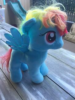 My Little Pony Rainbow Dash soft toy - great condition!