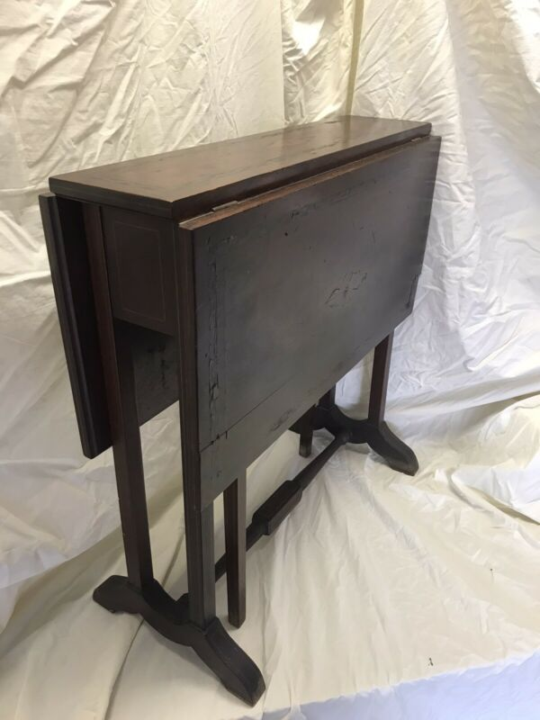 Antique Salesman Sample Gate Leg Oak Table