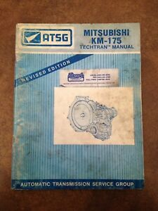 ATSG Mitsubishi Transmission Service Manual