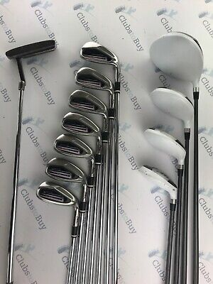 MD Golf Seve Icon Irons 5 - SW Driver 2 Fairways Hybrid Putter Mens RH Full Set