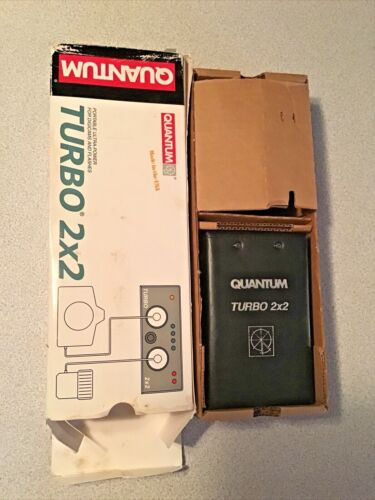 Quantum Turbo 2x2 Battery with T-75 AC Charger in Great Condition w/box