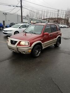 2002 Suzuki Grand Vitara Limited 4WD
