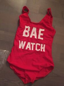 Baywatch swimsuit costume size s new