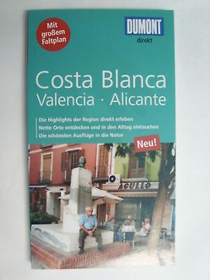 Costa Blanca del Azahar Valencia Alicante Spanien + Karte Dumont direkt 2015