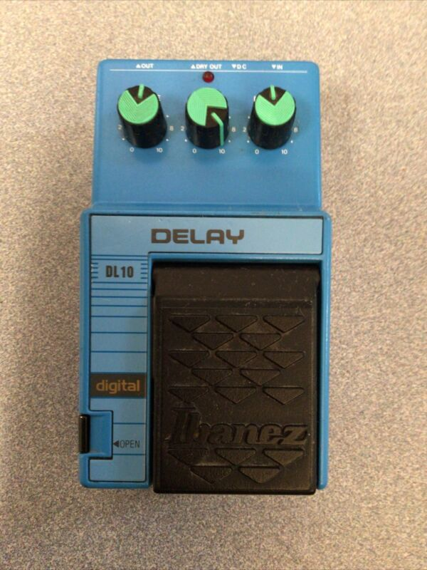 IBANEZ DELAY DIGITAL FOOT PEDAL
