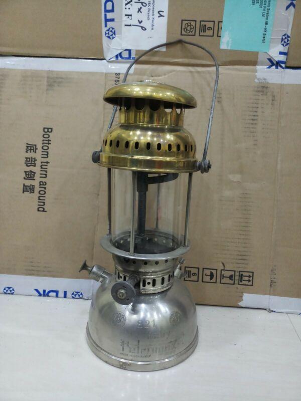 Vintage brass petromax baby 821 oil kerosene lantern original germany lantern