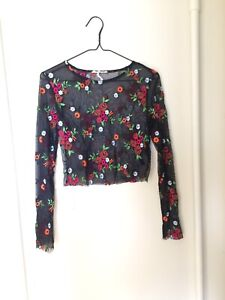 Floral UO Small Top