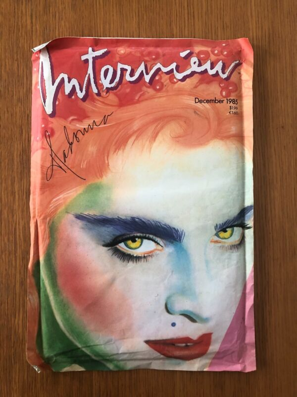 MADONNA INTERVIEW MAGAZINE 1985 GUCCI Limited Reprint SEALED Excellent Condition