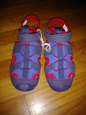 The Children's Place Boys E Bb Grizzly Flat Sandal Water Summer Shoe Youth sz 1