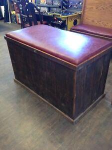 Rustic Storage Bench