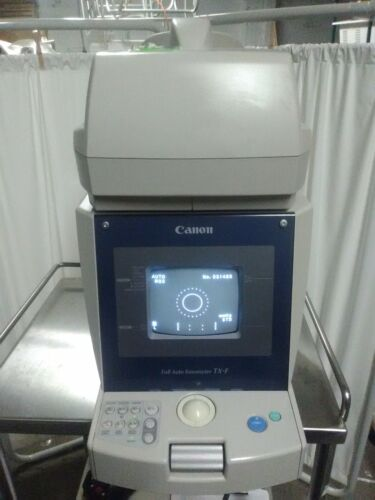 Canon TX-F With Power Cable Full Auto Tonometer