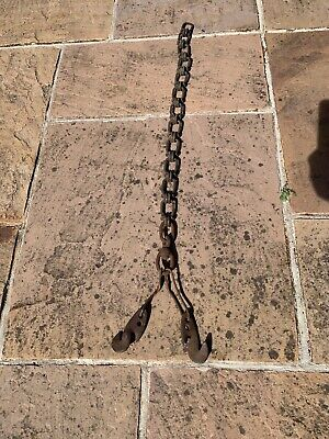 Vintage Farm Chain With Hooks