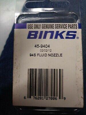 Binkspart 45-9404 94s Fluid Nozzle