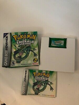 Pokemon Emerald (Gameboy Advance 2005) Complete Tested Authentic (See details)