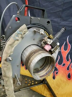 Astro Arc Polysoude 4.5 Tube 4 Pipe Weldhead For Orbital Tig Welding