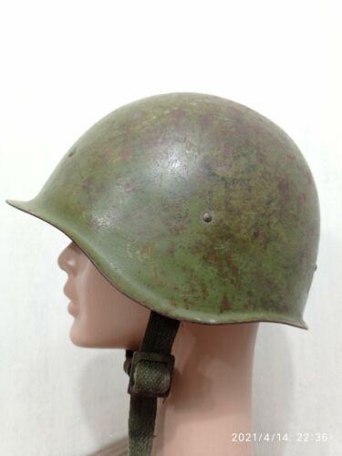 Soviet WWII Russian Combat Steel Helmet SSH40 Rare Original Condition Good