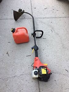 Gas trimmer and fuel can  for sale