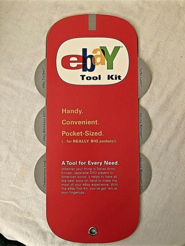 EBAY LIVE CONVENTION EVENT ORLANDO FL 2003 EBAYANA ~ EBAY LISTING TOOL KIT ~ NEW