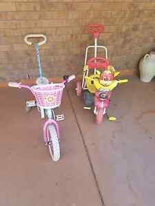 Girls bike and tricycle(both for $30) Southport Gold Coast City Preview