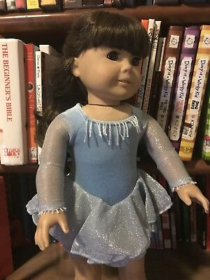 American Girl Today Sparkly Ice Dance Skating costume outfit (NWOB) RETIRED - Today Costumes