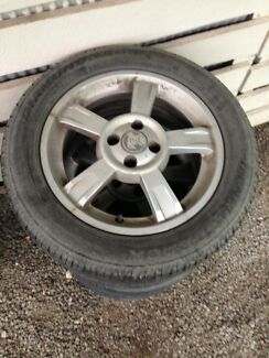 "16"" alloys holden astra vectra"