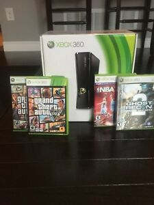Xbox 360 bundle in box