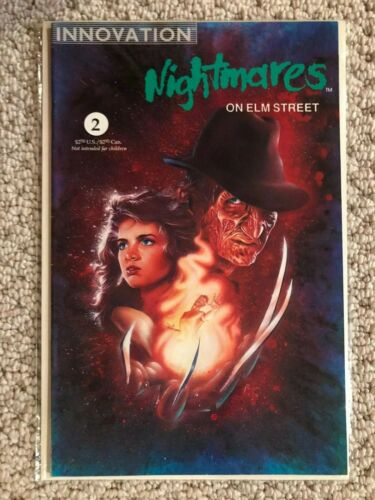 INNOVATION Nightmares on Elm Street, #2 VF 7.5,1991