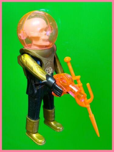 ⭐️ RARE! PINK DEAD ASTRONAUT SPACE SKELETON SPECTOR VINTAGE AIRGAM BOYS FIGURE