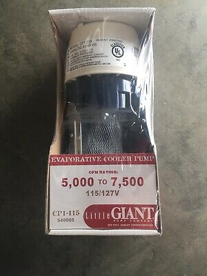 Little Giant Pump Company 540005 Coolant Pump Cp1-115 Nsfb