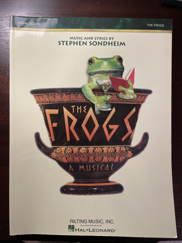 The Frogs First Edition Vocal Score Vocal Score Book 000313472