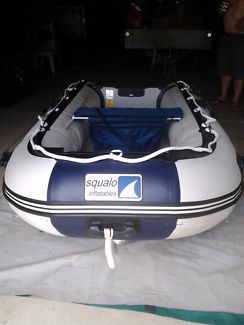 3.2metre SQUALO inflatable Dinghi AIR DECK