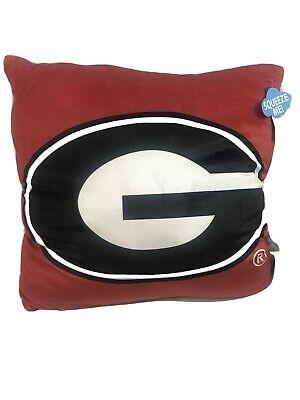 Georgia Bulldogs Northwest Pillow Size 22'' X 22