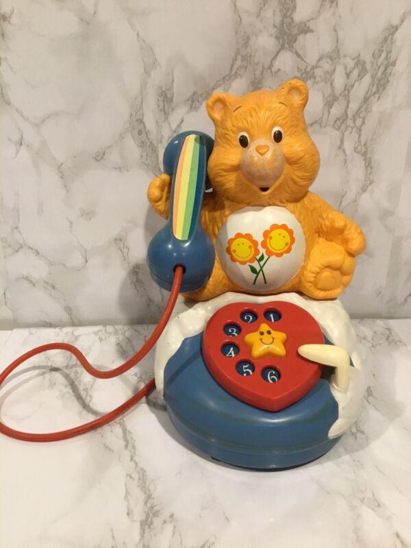 1985 Vintage Care Bears American Greeting Corp Rare Phone