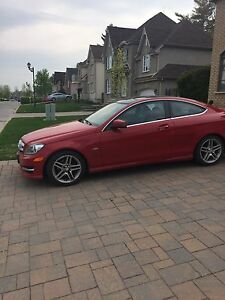 2012 Mercedes c250 coupe 135000KM