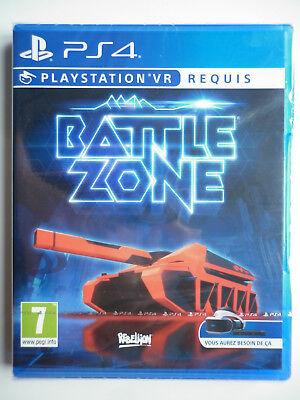 Battlezone PlayStation VR Jeu Vidéo PS4 Playstation 4