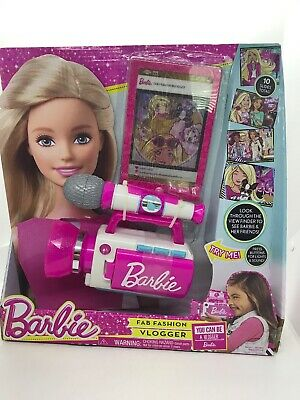 Barbie Fab Fashion Vlogger Play Microphone & Tablet Toy  for sale  Shipping to India