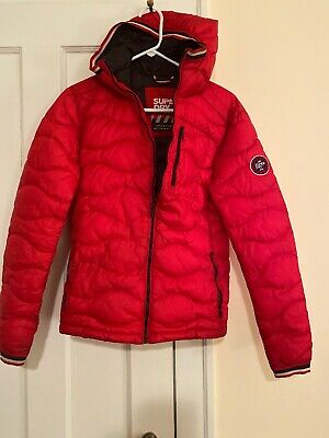 Men's Small Red Athletic Super Dry Jacket
