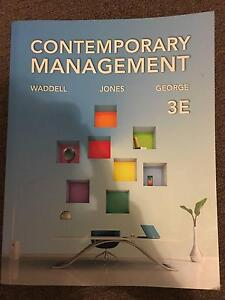 Contemporary Management Textbook (MGMT1000) Wilson Canning Area Preview