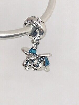 2019 Authentic Pandora Disney Parks Exclusive Flying Dumbo Charm 792124ENMX +BOX