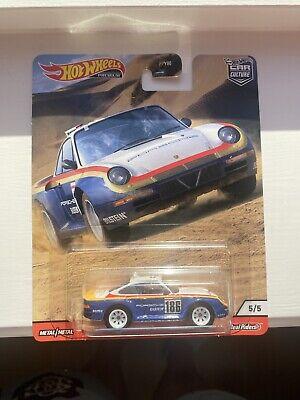Hot Wheels 2020 Car Culture WILD TERRAIN Porsche 959 Paris Dakar Rally Car
