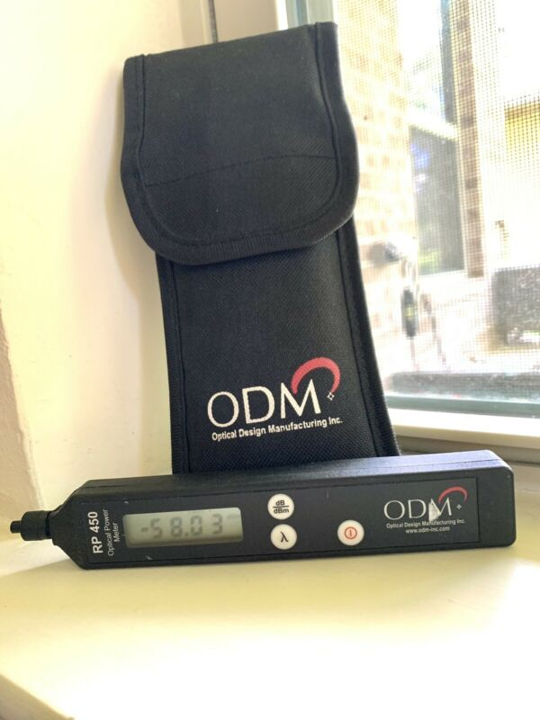 ODM RP450-02 Fiber Optic Power Meter