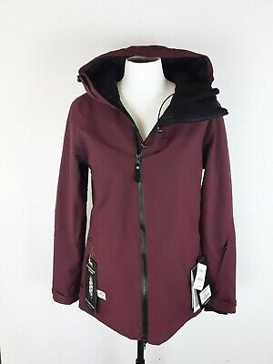Ride Belmont Burgundy Womens Med Ski Snowboard 15k Waterproof Breathable Jacket
