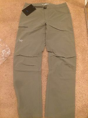 Arc Teryx Psiphon Sl Pants  For Men Size 34 Color Tarn Nwt