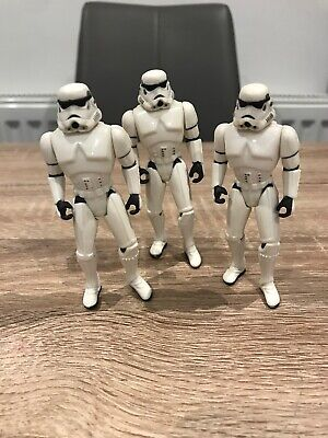 STAR WARS FIGURE 1995 POTF COLLECTION STORMTROOPER LOT X3 RARE BUNLE