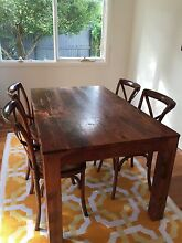 Dining table and 4 chairs Burwood Heights Burwood Area Preview