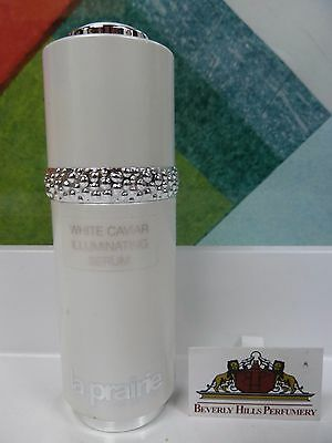 LA PRAIRIE WHITE CAVIAR ILLUMINATING SERUM 1.0 OZ / 30 ML NEW N0 B0X